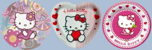Hello Kitty Partyset