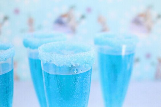 Frozen Party Drink  Glas