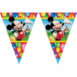 Wimpelkette Mickey Party Zeit
